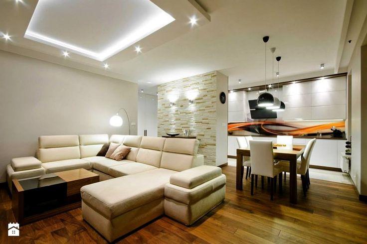 Aranżacje wnętrz - Salon: Mieszkanie Mokotów realizacja - Salon, styl nowoczesny - ZAWICKA-ID Projektowanie wnętrz. Przeglądaj, dodawaj i zapisuj najlepsze zdjęcia, pomysły i inspiracje designerskie. W bazie mamy już prawie milion fotografii!