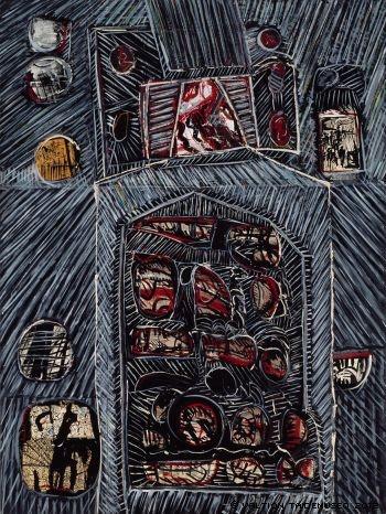Reino Hietanen: Allegory, 1967 - Suomen Kansallisgalleria