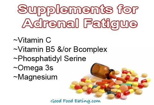 Foods that support adrenals