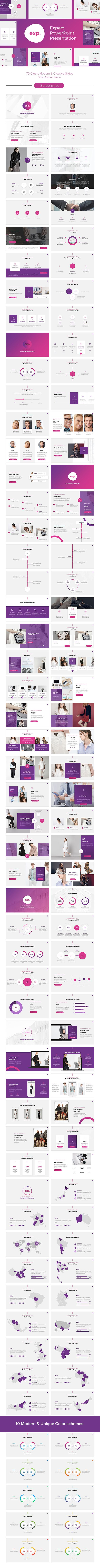 Expert PowerPoint Presentation - Creative #PowerPoint #Templates Download here: https://graphicriver.net/item/expert-powerpoint-presentation/20127130?ref=alena994