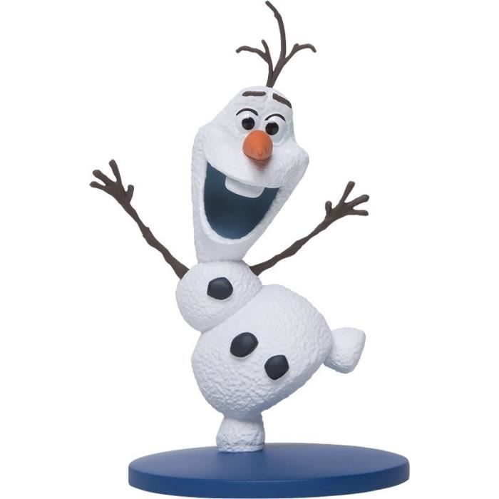 figurine personnage la reine des neiges olaf figurines frozen porcelaine froide dessins. Black Bedroom Furniture Sets. Home Design Ideas