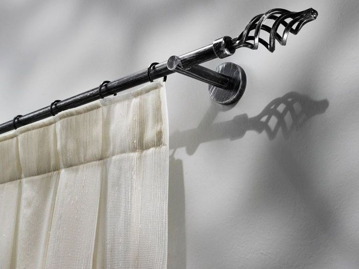 Gardinenstange aus Schmiedeeisen im traditionellen Stil ITACA Kollektion Eisen by Scaglioni | Design Scaglioni
