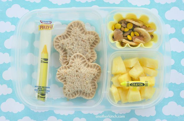 Kindergarten Yellow Day lunch by anotherlunch.com, via Flickr