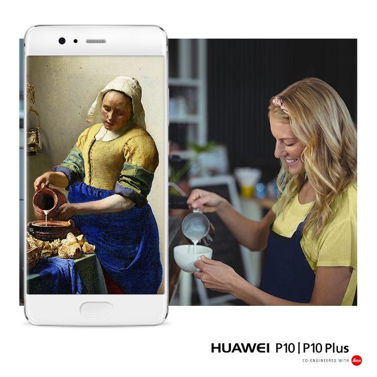Grazie alle tre fotocamere realizzate in collaborazione con Leica, con #HuaweiP10 e #HuaweiP10Plus puoi ridefinire il tuo #RitrattoPersonale. 🎨  #SelfieIsTheNewPortrait