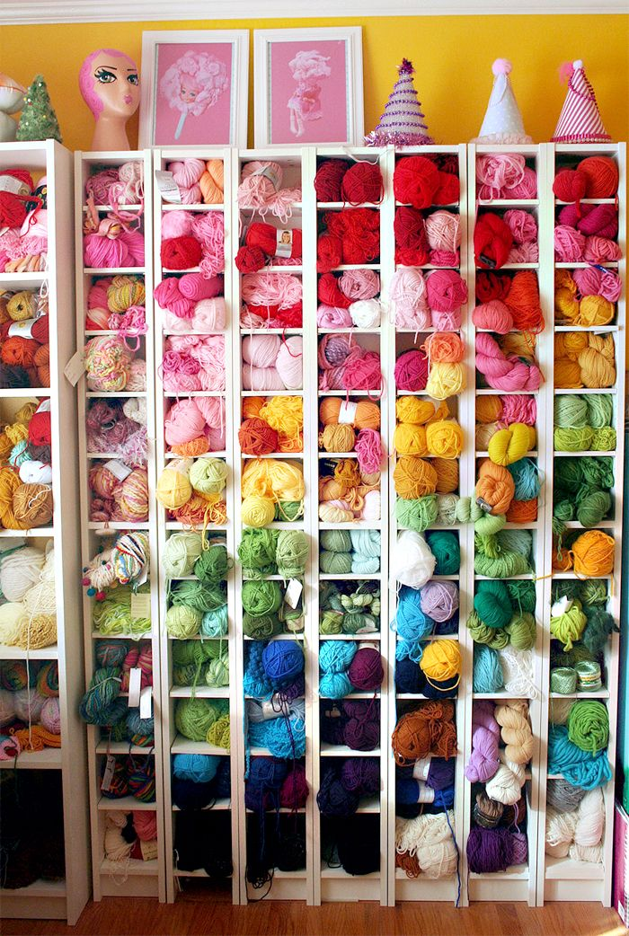 Favorite Finds: Yarn Storage Ideas | Gleeful Things