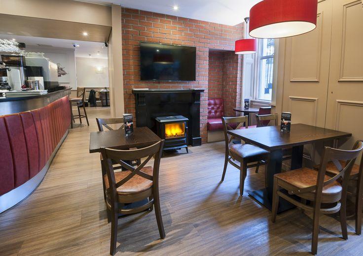 Shackleton's Bar & Brasserie in Channings #hotel #Edinburgh.