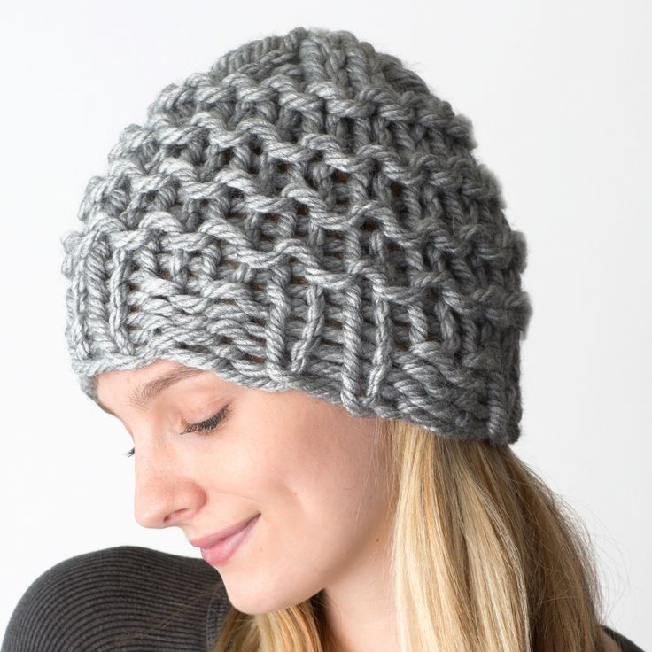 12 Loom Knitting Hat Patterns The Funky Stitch