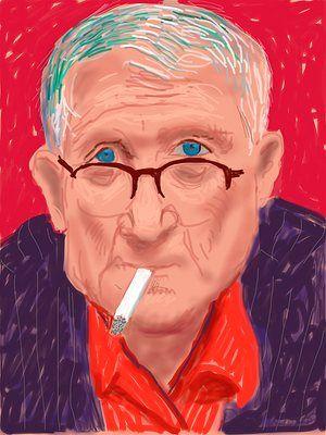 Self-portrait, 20 March 2012
