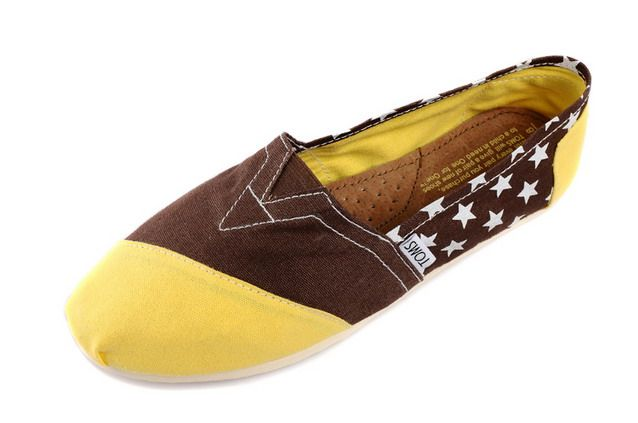 Toms Classic Womens Shoes Yellow Chocolate [Toms049] - $22.00 : Toms Shoes Outlet,Cheap Toms Shoes Outlet Save Up To 80% Off