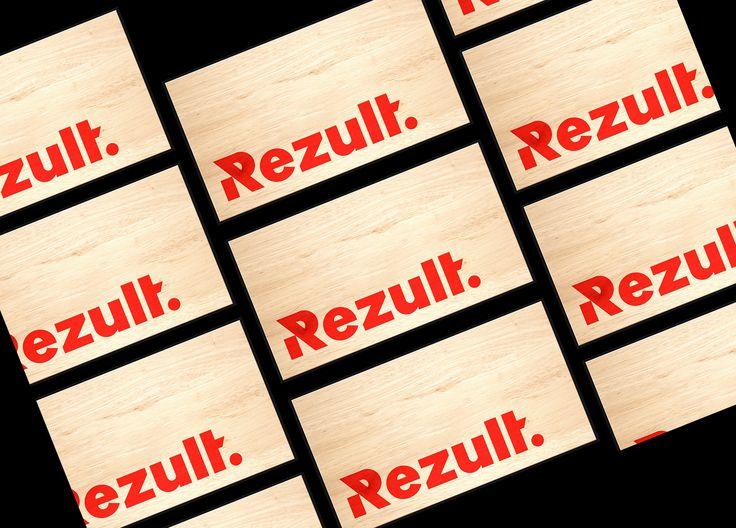 "Check out this @Behance project: ""REZULT"" https://www.behance.net/gallery/50060595/REZULT"