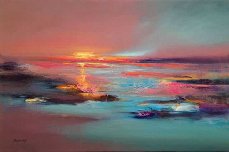 "Saatchi Art Artist Beata Belanszky-Demko; Painting, ""Silent Talks"" #art"
