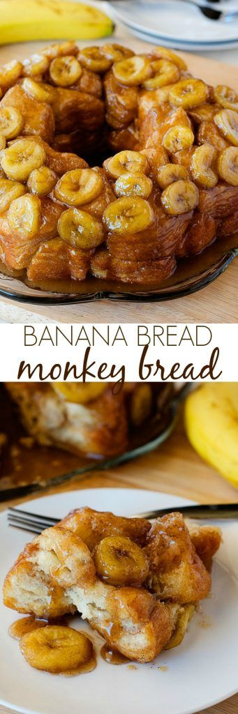 This tasted like banana bread with gooey caramel and cinnamon. SO GOOD!