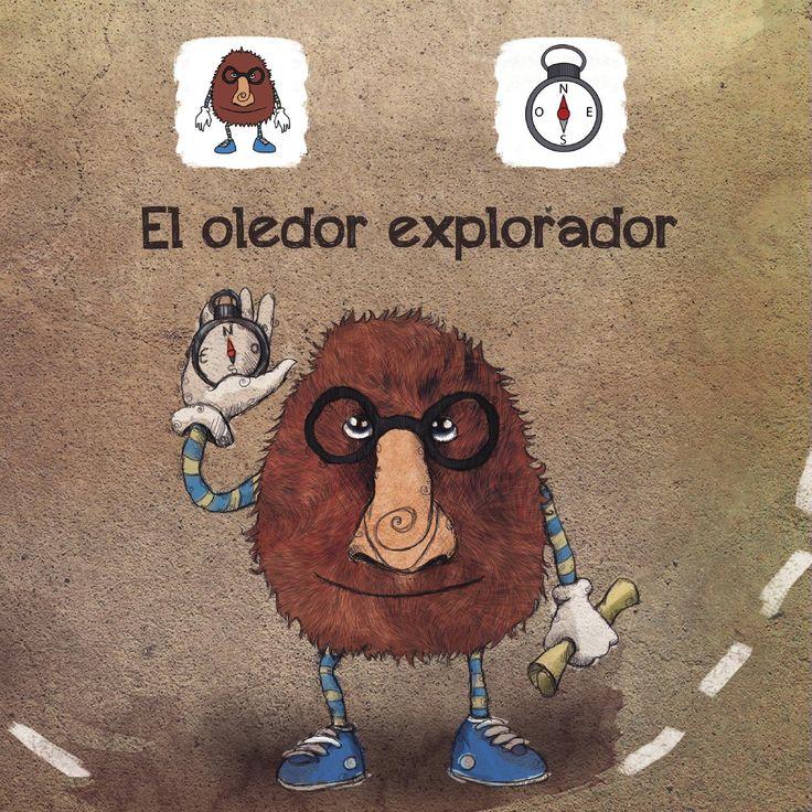 """""""El oledor explorador"""" - s un cuento de aventuras adaptado a pictogramas donde nuestro protagonista nos embarcará en una aventura en busca de la pimienta. El cuento interactivo"""" está disponible para dispositivos iPad  y Android. http://www.aprendicesvisuales.com/cuentos/disfruta/"""