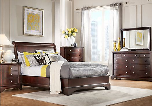 Shop for a Whitmore Cherry 5 Pc King Bedroom at Rooms To Go. Find King Bedroom Sets that will look great in your home and complement the rest of your furniture.
