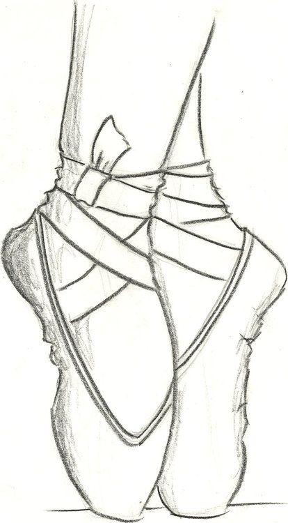 #dessin #pieds #danseuse