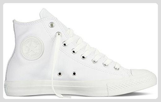 Converse Chuck Taylor All Star Adulte Mono Leather Hi, Unisex-Erwachsene Hohe Sneakers, Weiß (blanc), 39 EU - Sneakers für frauen (*Partner-Link)