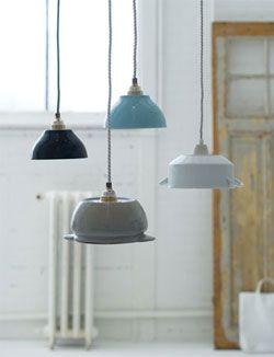 DIY lamp-shade made of bowl #light - Lampenkap van een soepkom. #lamp Kijk op www.101woonideeen.nl