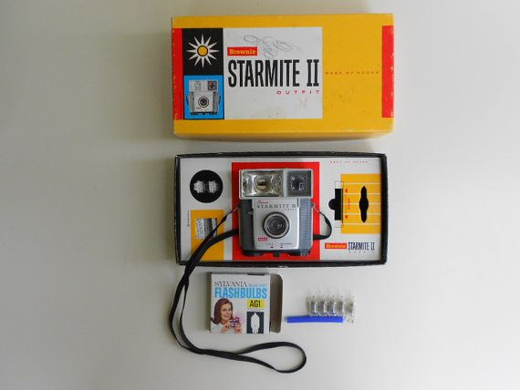 Vintage Kodak Brownie Starmite II Camera by TheArtifactAttic