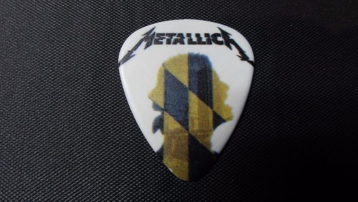 Metallica - Baltimore Maryland Guitar Pick - First USA 2017 Hardwired Tour Show!   Entertainment Memorabilia, Music Memorabilia, Rock & Pop   eBay!