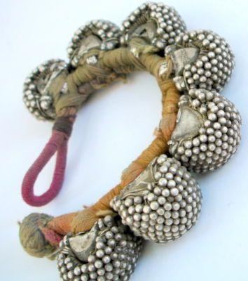 silver bracelet, India, ebay