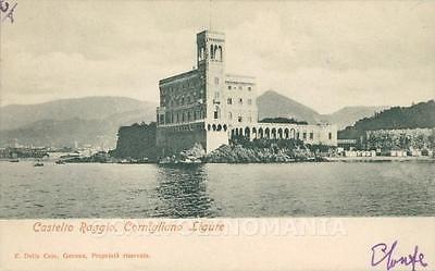 Genova Cornigliano Ligure Castello Raggio cartolina XB2715 • EUR 5,00