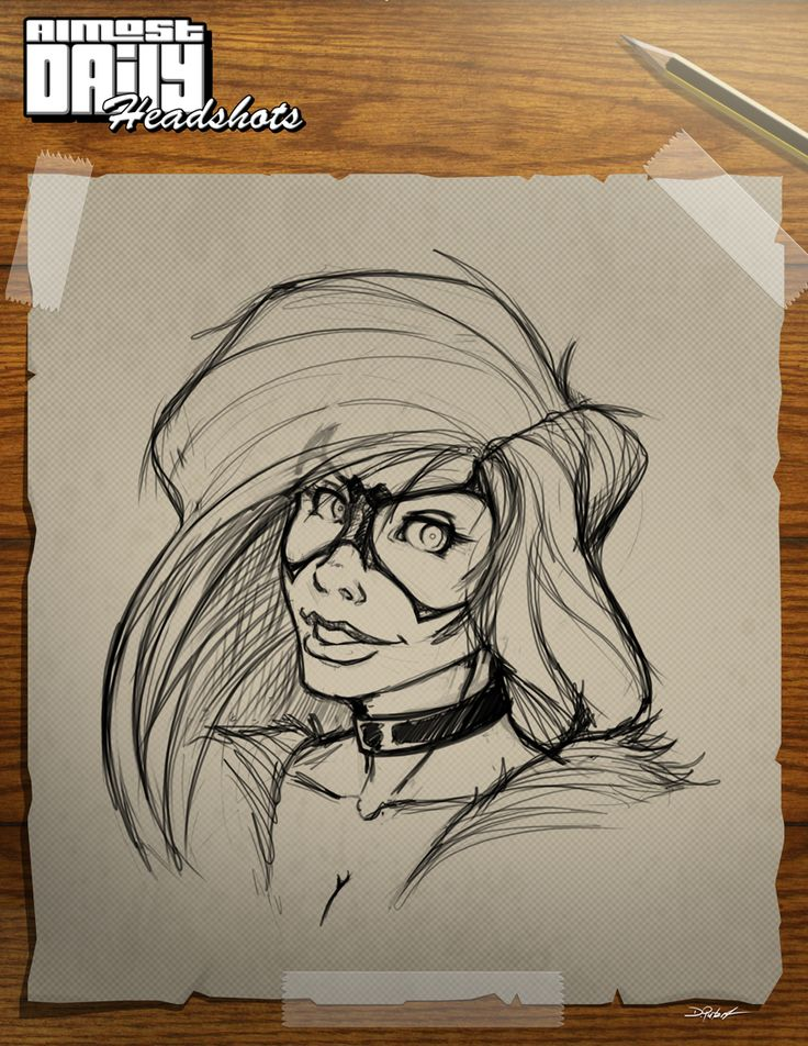 Almost Daily Headshot number 8. This time Felica Hardy aka BLACK CAT. Let me know what you think.