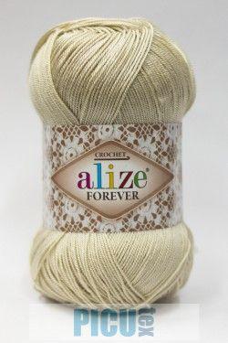 Poze Fir de tricotat sau crosetat - Fir microfibra ALIZE FOREVER CREM 383