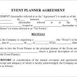 event planning agreement template event contract template 18 free word excel pdf documents