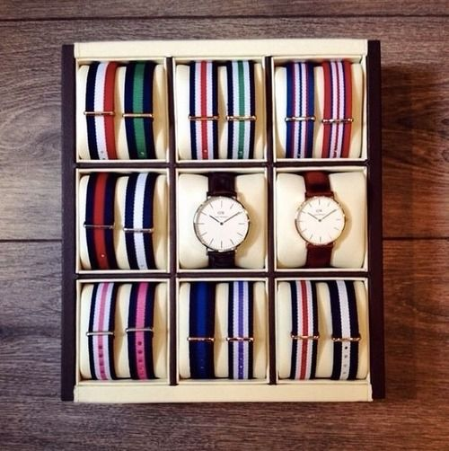 Coffret Daniel Wellington.