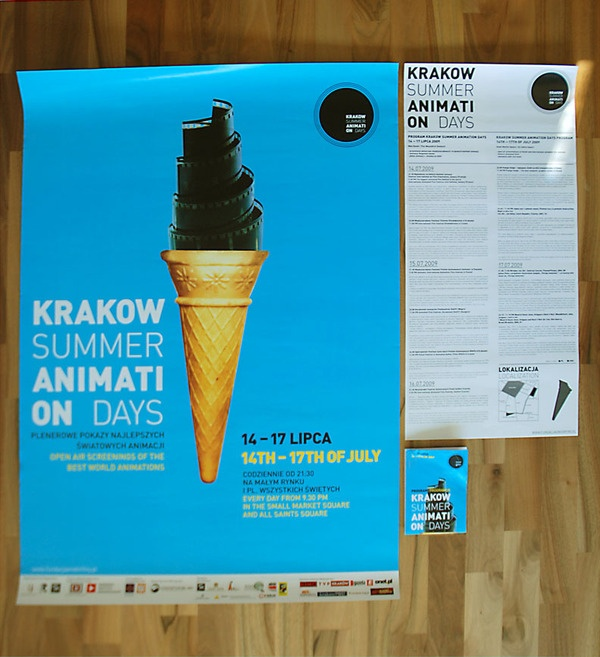 Krakow Summer Animation Days by bombastudio , via Behance