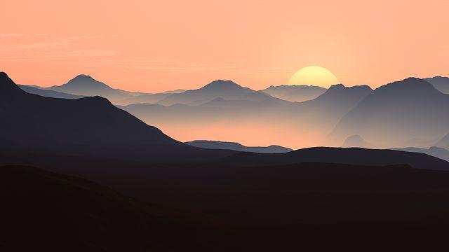 Evening, Sun, Sunset, Back Light, Mood, Twilight, Sky