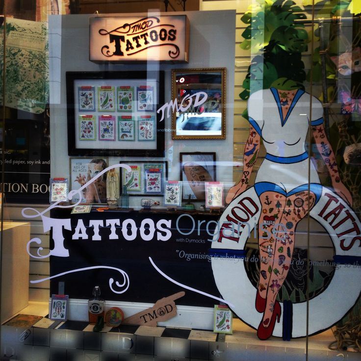 Our Tattoo range in the Dymock's shop window Check it out here:  http://tmod.com.au/catalog/temporary-tattoo-cards