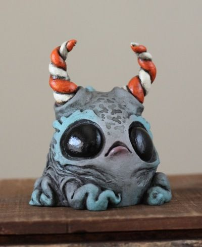 Candy_horned_crumbeater-chris_ryniak-acrylic_and_epoxy_on_resin-trampt-127062m