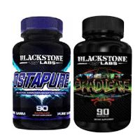 Blackstone Labs Ostapure is a Selective Androgen Receptor Modulator in which it has the ability to stimulate the androgen receptor.  This means means it does the same thing that steroids do.  The benefit that Ostapure has is that it does not have all of the same side effects that steroids have.  Most users experience between 5-6 lbs. of muscle per cycle.  Ostapure helps increase pumps in the gym, strength, and libido.