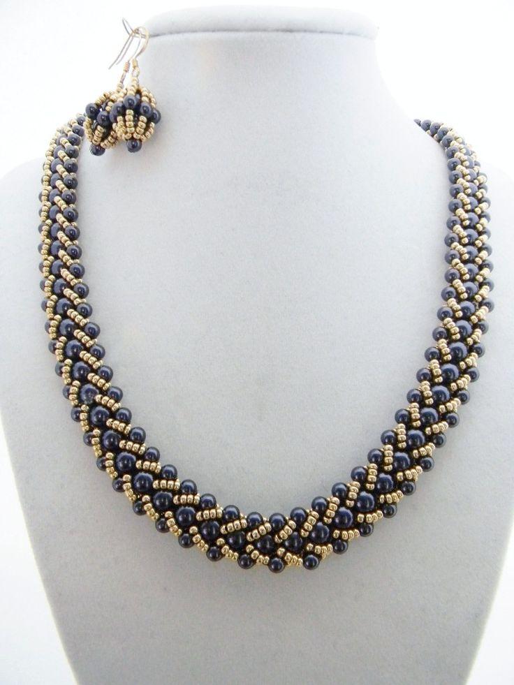 Kumihimo Jewelry Free Patterns | FLAT SPIRAL