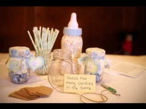 Baby shower prize decorating ideas