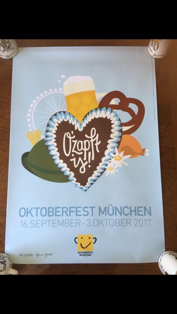 THE DATES OF THE FEST IS SEPTEMBER 16, 2017 - OCTOBER 3, 2017.   eBay!