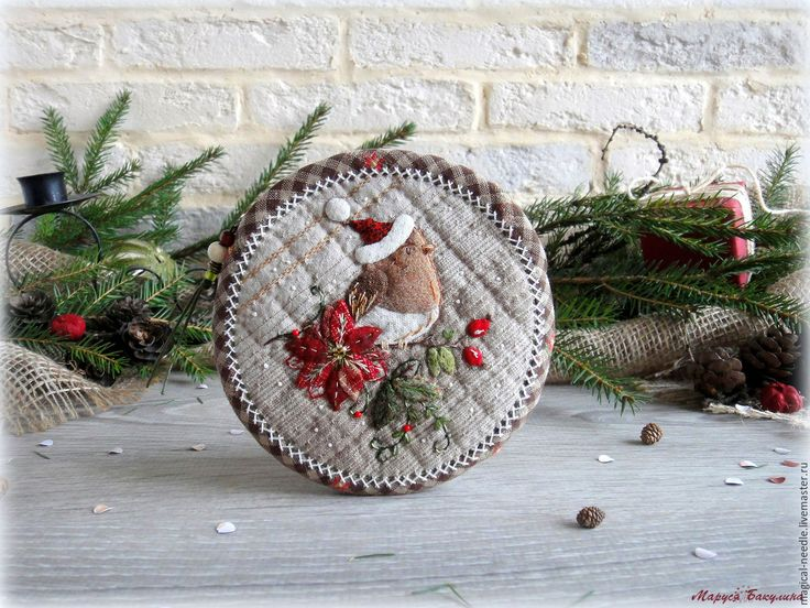 """Buy Lovely Round Purse """"New Year's Song"""" - purse, purse handmade"""
