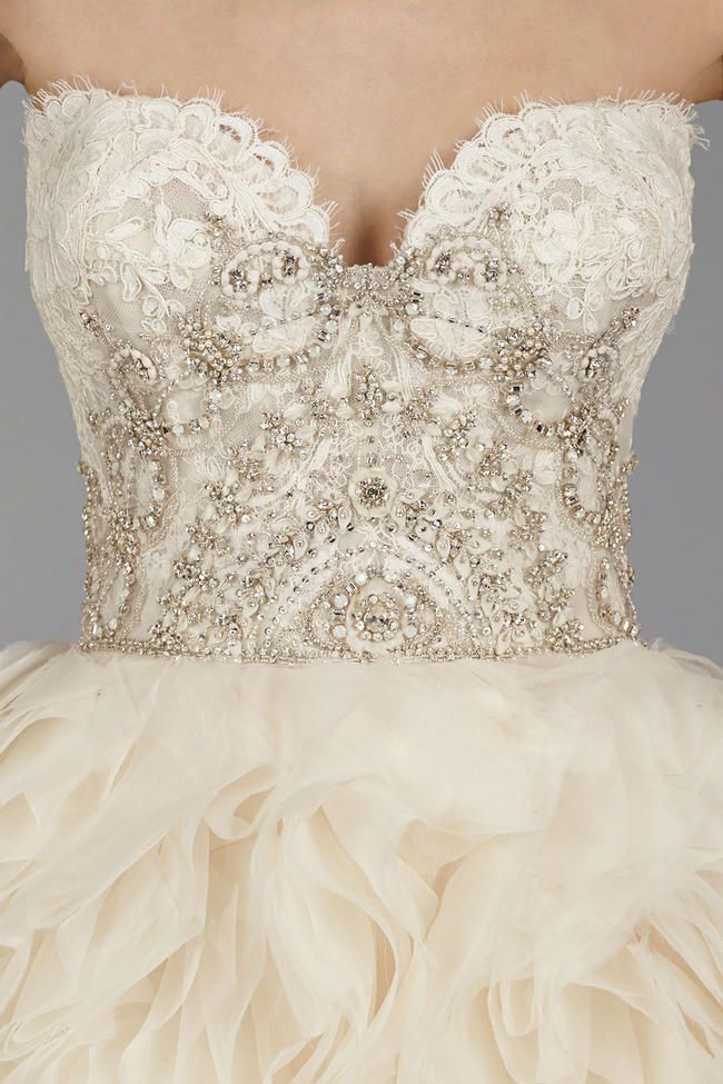 Lazaro Wedding Gowns 2014 1