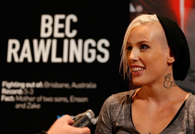 Meet the TUF Straw weights: Bec Rawlings