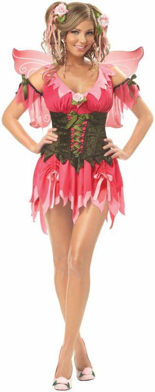 Rose Fairy Adult Costume,$52.99