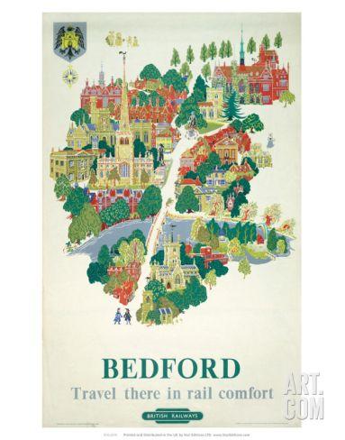 British Railway, London Midland Region, Bedford Art Print at Art.co.uk