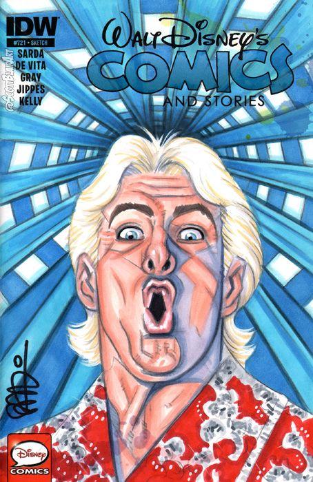Ric Flair Space Mountain by scottblairart | Pro Wrestling ...