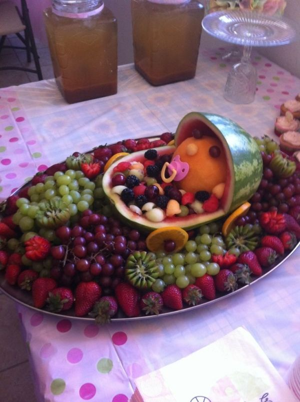 Fruit Baby - 27 Super Cute Baby Shower Decorations to Make Your Party the Best ...
