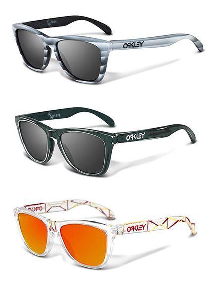 New Oakley 2013 sunglasses. Don't throw shade. http://www.drrosenak.com/
