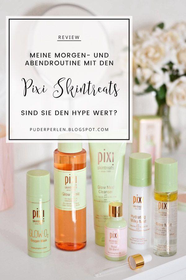 [Review] Meine Morgen- und Abendroutine mit den Pixi Skintreats – Puderperlen   Beauty Blog