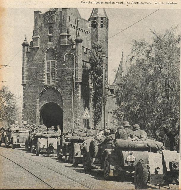 Haarlem, The Netherlands, mei 1940
