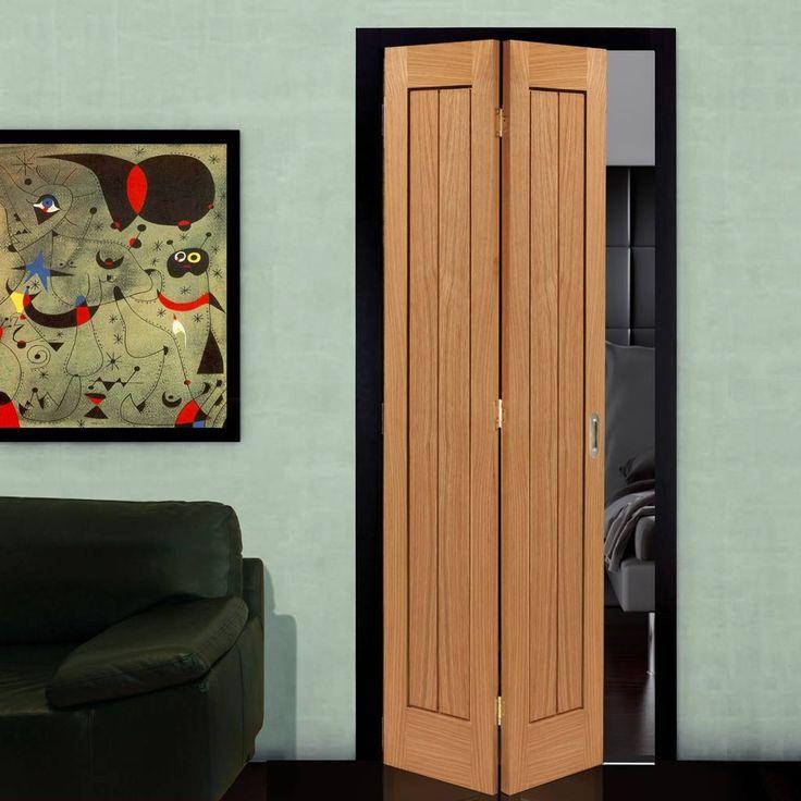 JBK River Oak Thames MK2 Bifold Door - Lifestyle Image