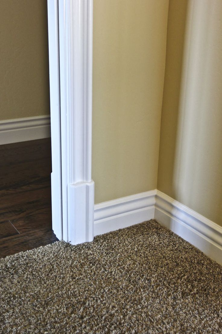 1000 Ideas About White Baseboards On Pinterest