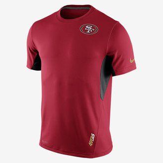 Nike Vapor (NFL 49ers) Men's Training Shirt - Shop for women's Shirt - Gym Red/Black/Club Gold Shirt